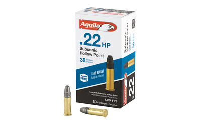 AGUILA 22LR SUB HV 38GR HP 50/5000 - for sale
