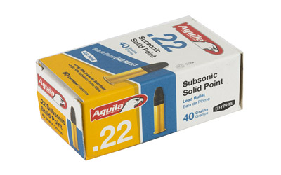 .22LR SUPER SUB 40GR LEAD - for sale