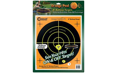 "CALDWELL ORNGE PEEL BULLS-EYE 8""(5) - for sale"