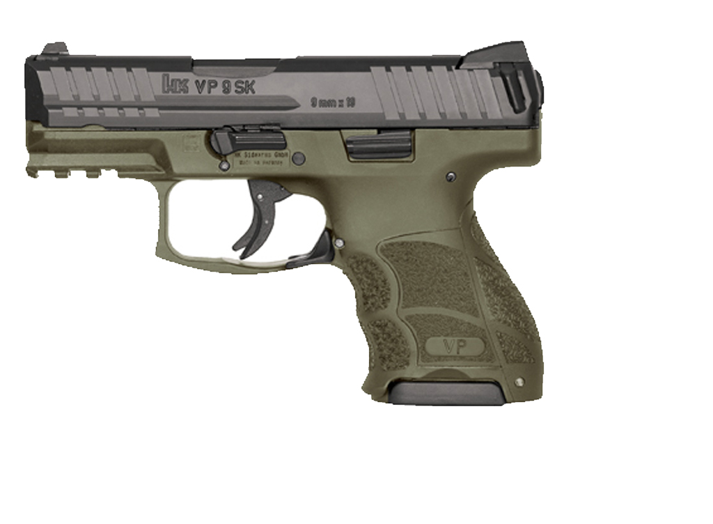 Heckler & Koch VP9SK 9mm OD Green - for sale