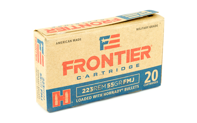 FRONTIER 223REM 55GR FMJ 20/500 - for sale