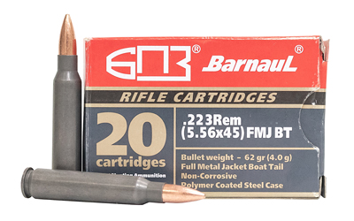 BARNAUL 223REM 62GR FMJ 20/500 - for sale