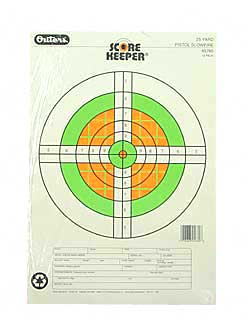CHAMPION SCOREKPR 25YD PISTOL FLUOR - for sale