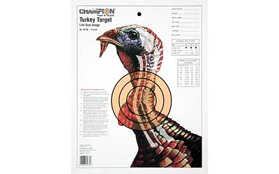 CHAMPION TURKEY TRGT LIFESIZE 12PK - for sale