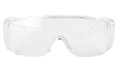 RADIANS COVERALLS CLEAR GLASSES CVRS - for sale