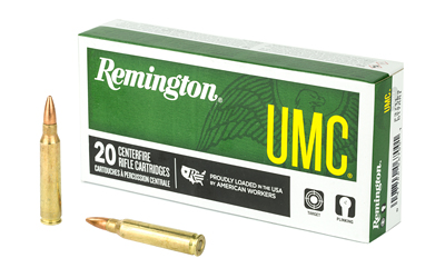 REM UMC 223REM 55GR FMJ 20/200 - for sale