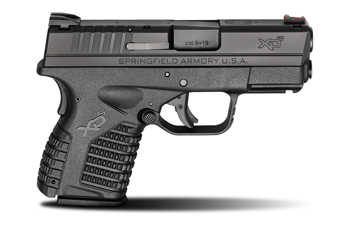 Springfield Armory XD-S 9mm Black Pistol - for sale