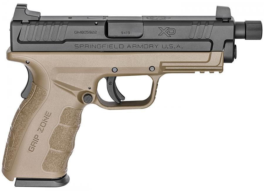Springfield Armory XD MOD 2 9mm FDE Frame Threaded Service Model - for sale