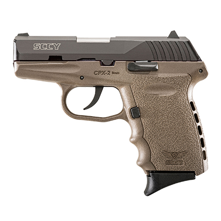 SCCY CPX-2 9MM BLK-FDE - for sale