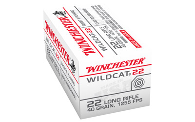 WIN WILDCAT 22LR 40GR LRN 50/5000 - for sale